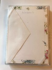 "Caspari Invitations 10 with 10 Envelopes- ""Bouquets�, Janine Moore - Unopened"