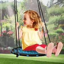 "24"" Kids Web Swing Playground Tree Outdoor Hanging Play Net Swing Detachable NEW"