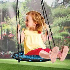 "24"" Kids Web Swing Playground Tree Outdoor Hanging Play Net Swing Detachable New"