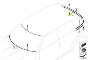 MINI COUNTRYMAN R60 SUPPORT LEDGE - TAILGATE GLASS