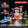 ONLY LED Light Lighting Kit For LEGO 10263 Winter Village Fire Station Building