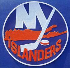 "LOT OF 50 VINTAGE 70's NEW YORK ISLANDERS JUMBO 8"" PATCHES @ $1.99! $10 on EBAY!"