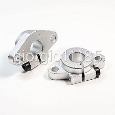 US Stock 4pcs Aluminum SHF13 13mm Linear Rod Rail Shaft Support Motion CNC Route