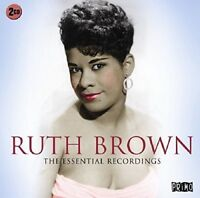 Ruth Brown - The Essential Recordings [CD] OFFICIAL PRIMO Double Album Gift Idea