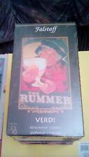 Falstaff - Verdi Complete Opera (1998) VHS Benjamin Luxon Donald Gramm BRAND NEW