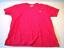 Ecko Unlimited Short Sleeve Red V-neck Shirt Men's Size 3XL