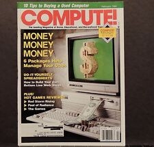 Compute! Magazine back issue February 1989 Computers Macintosh Apple Amiga Atari