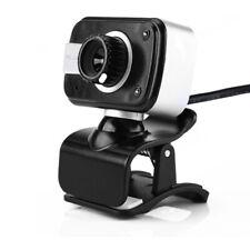 USB Webcam Auto Focusing Web Cam with Microphone 3.5mm Auidio Jack Mic