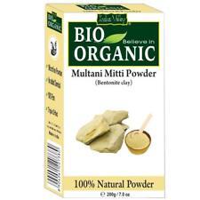 100 % Original Indus Valley BIO Organic Multani Mitti Natural Powder 200gm FS