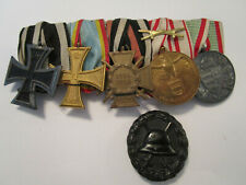 Set of 7 1914 1918 WW1 medals AUSZEICHNUNG TM NNH PRO DEO ETPATRIA