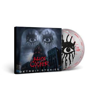 Alice Cooper - Detroit Stories - New CD/DVD Album - In Stock