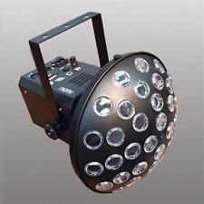 EXTREME MUSHROOM 4 QUAD 3 EFFETTO LUCE LED 4 LEDS X 3W RGBW CONTROLLO DMX 8 CANA