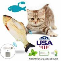 Cat Wagging Fish Electric Realistic Plush Simulation Interactive Fish Plush Toys
