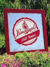 "Leinenkugel 150 Years Brewing Whiskey Beer Bar Pub Mirror ""New"" Man Cave Sign"