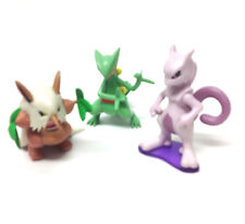 "Nintendo Games POKEMON Monsters 3"" Toy Action Figures lot set Pikachu go"