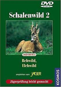 Schalenwild 2 - Rehwild/Elchwild   DVD   Zustand sehr gut