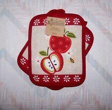 Apples Potholder Set Kay Dee An Apple A Day Pattern