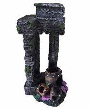 AQUARIUM FISH TANK ornamento decorazione-colonne ANTICHE ROVINE