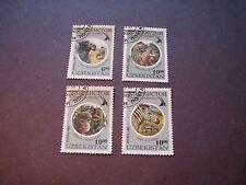 Uzbekistan Scott# 96-100(97 missing) Wildlife 1995 P1