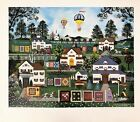 """Jane Wooster Scott Signed & Numbered L/ED Lithograph """"The Quilts of Cape Cod"""""""