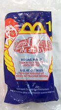 2000 McDonald's Happy Meal Power Rangers Rescue Red Rail Rescue MIP C10!