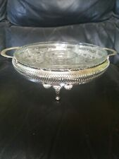 queen anne silver plated tableware