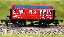"""4mm /OO GAUGE LIMITED EDITION COAL WAGON """"E W NAPPIN"""""""