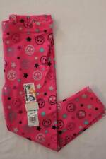 NEW Toddler Girls Leggings Size 4T Pink Stretch Pants Smile Hearts Stars Bottoms