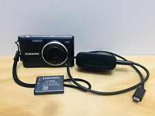 SAMSUNG ST150F 16.2MP WiFi Digital Camera Black Charger Battery Included