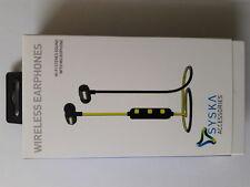 Syska Bluetooth Headphone Wireless Earphone with Mic Model H-15
