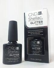 CND Shellac UV Glitter Top Coat 0.25oz / 7.3ml + FREE SHIPPING