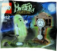 BRAND NEW SEALED LEGO 30201 MONSTER FIGHTERS GHOST POLYBAG GLOW IN THE DARK