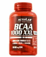 ACTIVLAB BCAA 1000 XXL Branched Chain Amino Acid 120 TABLETS - FREE SHIPPING !
