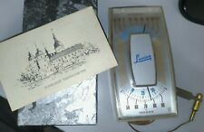 "RARE VINTAGE ""LAMINA CORP"" INDOOR OUTDOOR SUNBURST THERMOMETER - IN BOX"