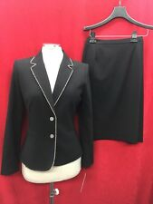 TAHARI BY ARTHUR LEVINE SKIRT SUIT/SIZE 4/BLACK/NEW WITH TAG/LINED