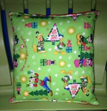 Mickey Mouse Minnie Mouse Gang Pillow Christmas Tree Pillow, Handmade In USA