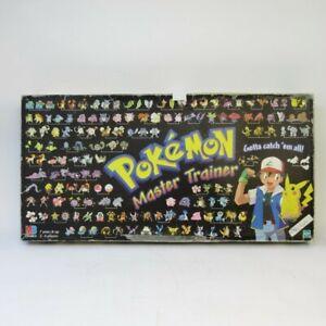 Pokemon Master Trainer Board Game 1999 Hasbro Rare Retro Table Top 2-6 Player 7+