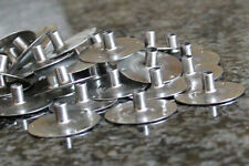 Metal Candle Wick Sustainer Tabs 20 mm x 6 mm ~ 50 pcs US SELLER