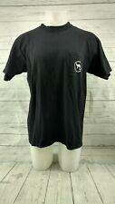 Vintage JOE CAMEL CIGARETTES Mens XL Graphic Novelty Ad Promo T Shirt Black S/S
