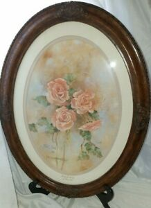 """Marty Bell, Pride of Spring, #912/1250  1989, 12""""x 16"""" Oval With COA"""