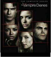 VAMPIRE DIARIES:  THE COMPLETE SERIES   **US SELLER**   38 DISC SET