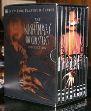 The Nightmare on Elm Street Collection (8 Disk) DVD Box Set Rare Complete CIB
