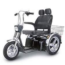 Afikim Sportster SE 3 Wheel Mobility Scooter  7.4 mph Wide Seat