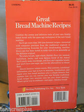Great Bread Machine Recipes~Includes Conversion Information+ Repair Your Machine