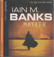 MATTER - Iain M Banks. Read by Toby Longworth (NEW/SEALED 5xCD SET 2008)