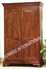 Home Furniture - Wooden 2 door Cupboard / Wardrobe (panel design) !!