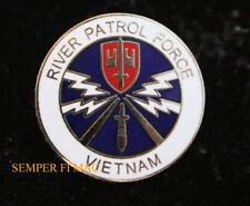 RIVER PATROL ONE 1 HAT PIN US NAVY VIETNAM VETERAN PBR Patrol Boat River USS WOW