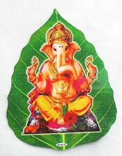 AUFKLEBER Sticker GANESHA Indien ZWEISEITIG Fenster