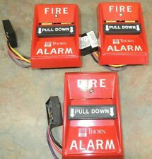 THORN PULL DOWN WALL FIRE ALARM 1496 FIRE FIGHTER VINTAGE SCHOOL HOUSE PULLDOWN