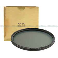 FOTGA 77mm Ultra Slim Multi-Coated 12 Layers Variable ND2-400 Fader MC-ND Filter
